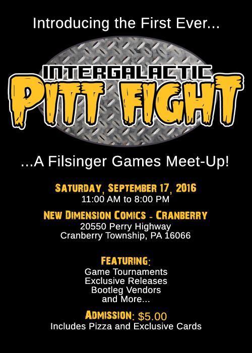 Pitt Fight Event FLyer
