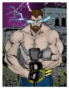 Battle Axe Card Art