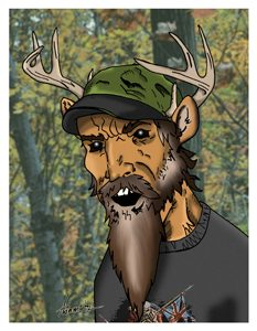 Buck Blake Card Art