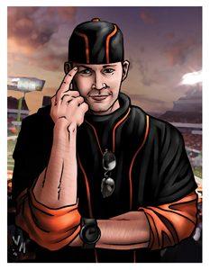 Headhunter Travis Deadly Card Art