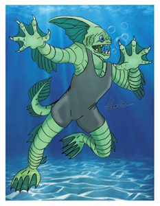 Murky Waters Card Art