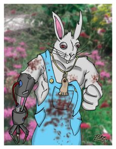 Pete Cottontail Card Art