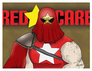 Red Scare Card Art