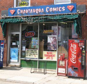 Chautauqua Comics Storefront